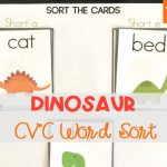 Dinosaur Short Vowel Sort