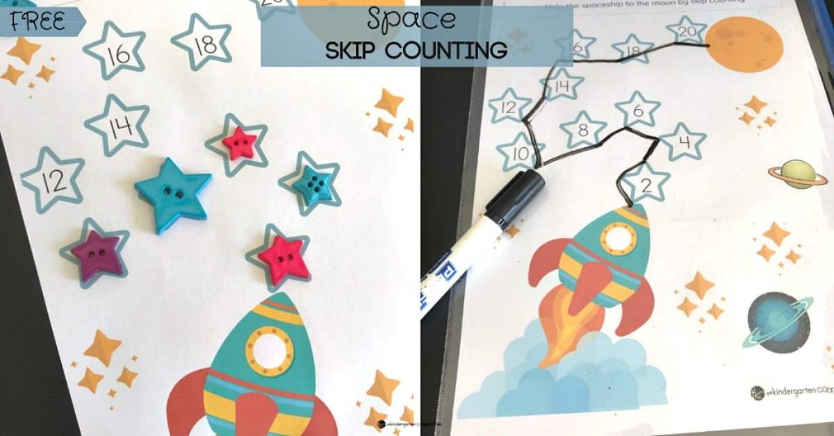 Space Skip Counting By 2's, 5's,10's