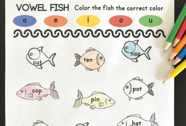 Fish Short Vowel Activity