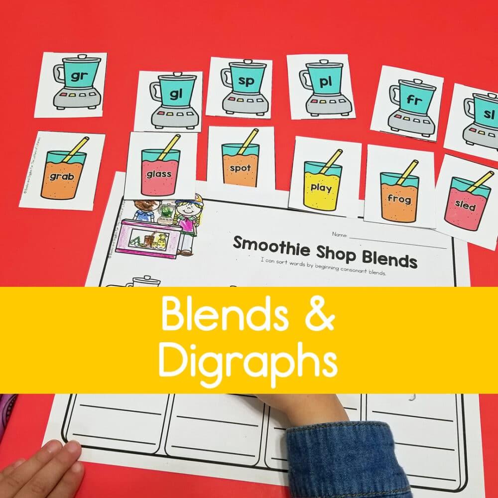 Blends & Digraphs