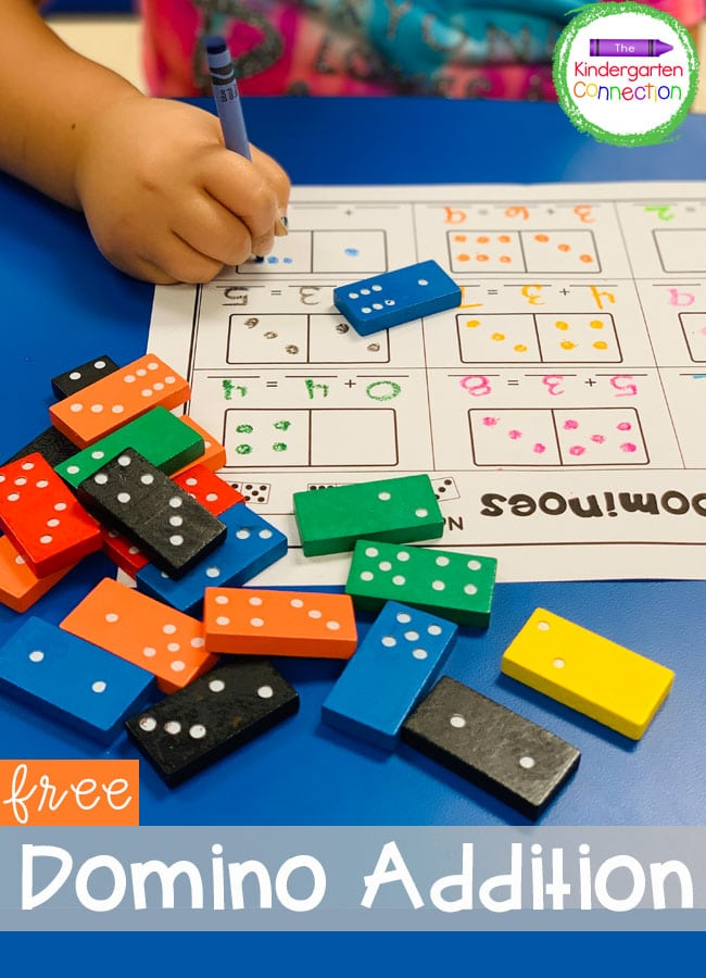 This free Domino Addition Game is a fun and effective way to build up addition fluency!