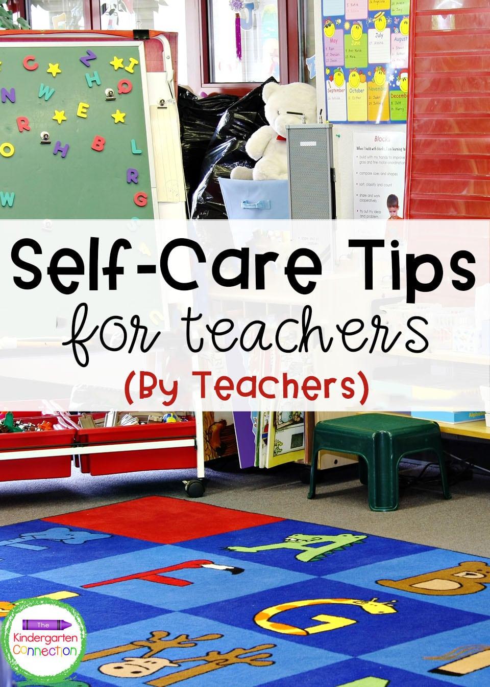 These teacher self-care tips were written for teachers, by teachers and can help you manage teacher stress.