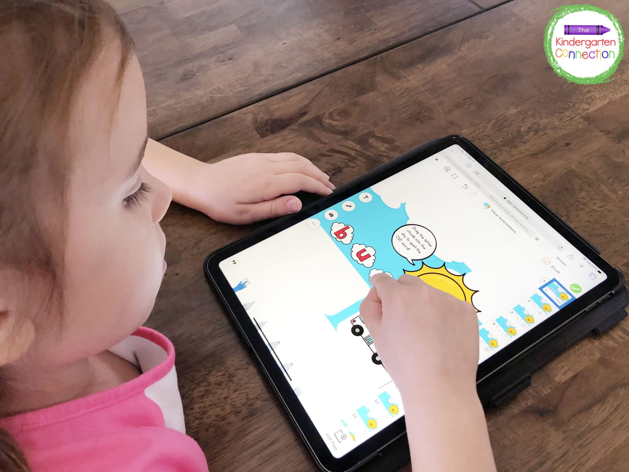 Kids can use a tablet independently to practice important skills in a way they will truly enjoy.