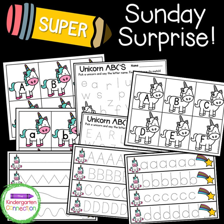 Print and Play Club members get additional activities and variations of our weekly Sunday Surprise!