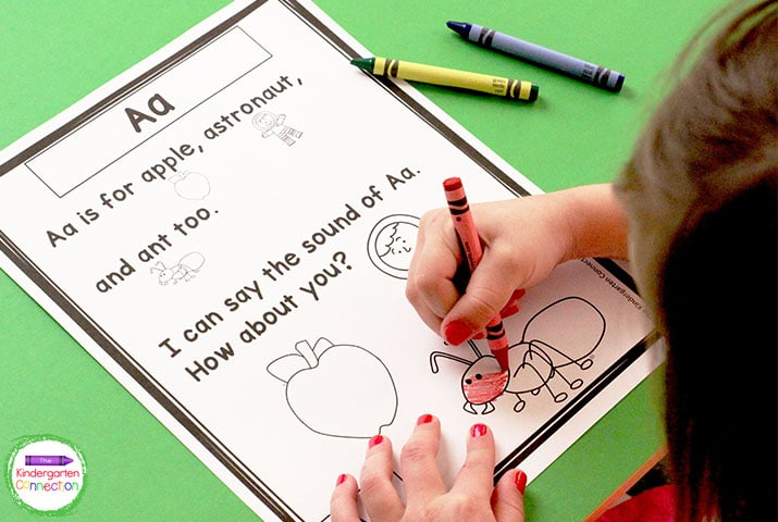 Use these phonics poems to practice fluency and review the alphabet at the same time.