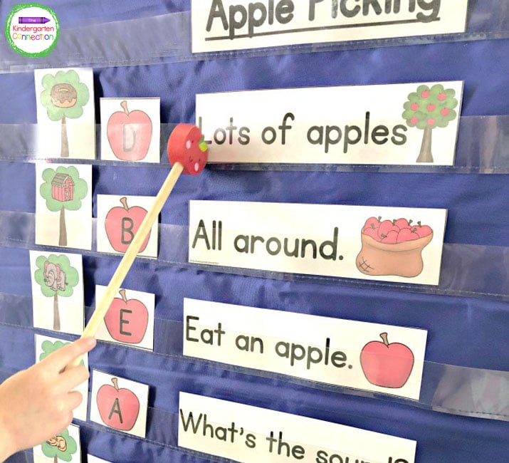 This Apple Beginning Sound Pocket Chart Activity is sure to get your students practicing beginning sounds in a whole new way!