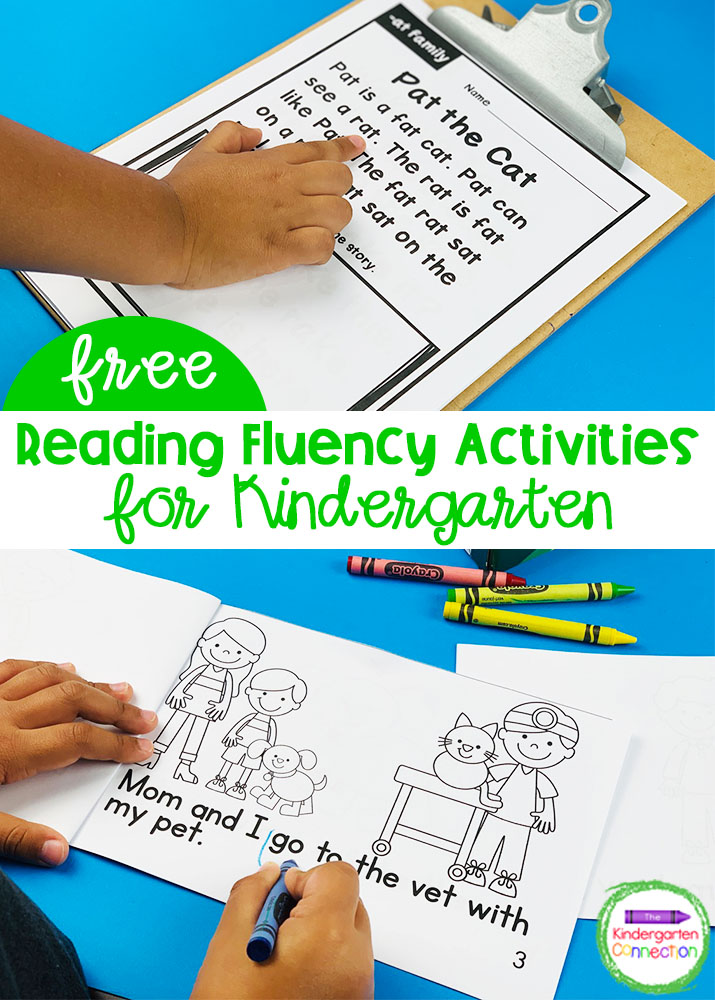 This FREE emergent reader and fluency passages sampler is perfect for encouraging extended practice of sight words and building fluency skills!
