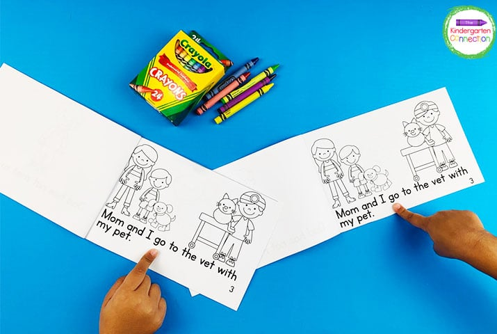 These engaging and fun emergent readers are perfect to use in small groups.