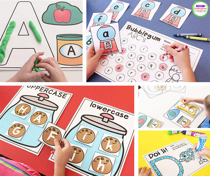 Alphabet Activities And Centers For Pre-K And Kindergarten