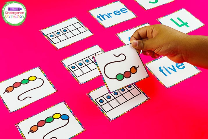 This pack also includes number cards that show multiple ways to represent and make each number.