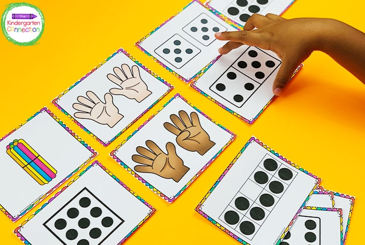 This set  of subitizing fluency cards comes with numbers 1-20 represented in 4 different ways!
