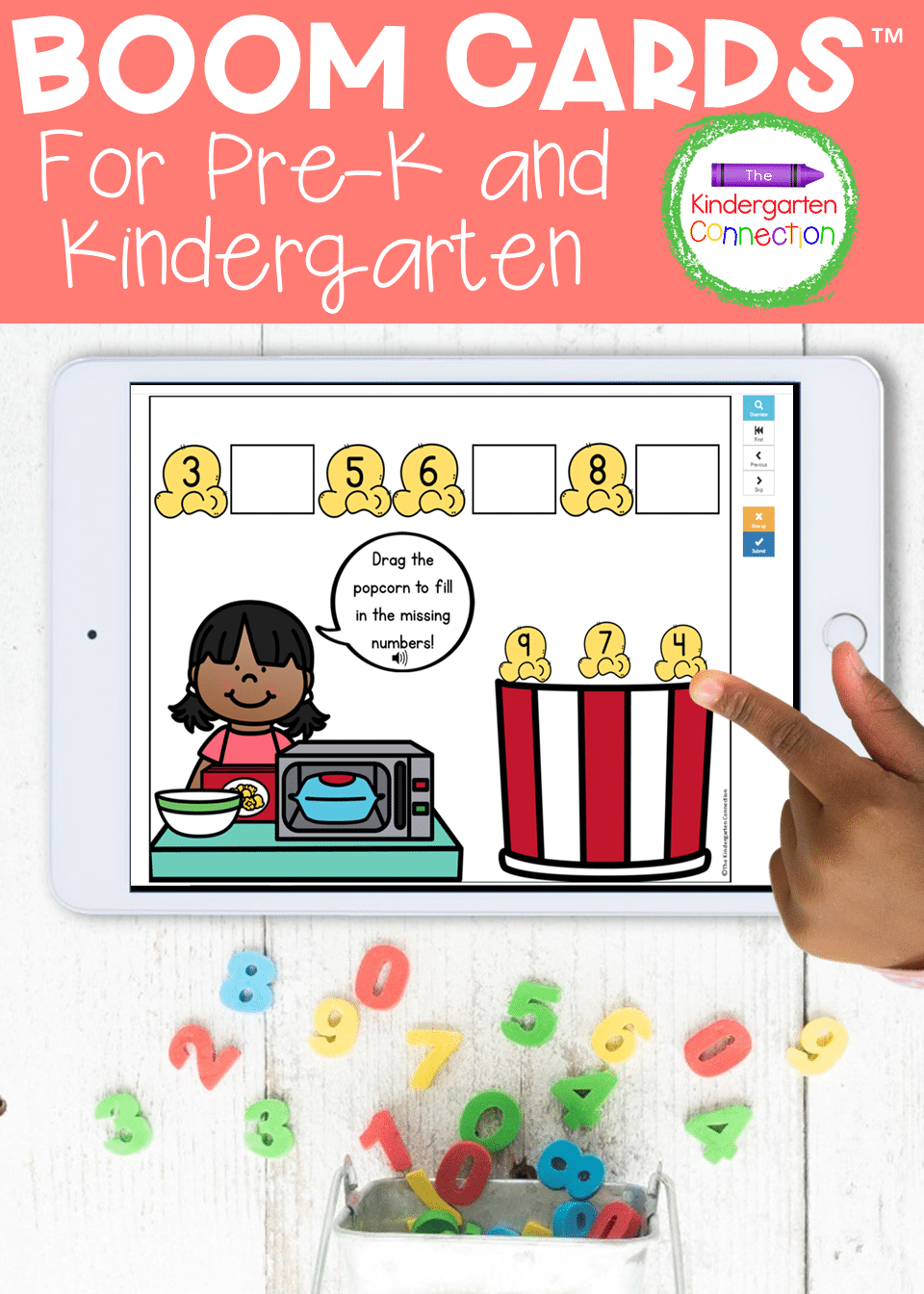 Grab this endless bundle of math and literacy Boom Cards™ Digital Learning Games that your Pre-K and Kindergarten students will love!