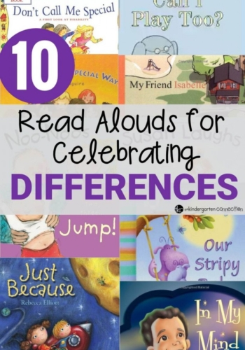 10 Read Alouds for Celebrating Differences Book List for Kindergarten