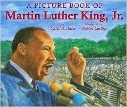 A picture book of Martin Luther King, Jr. has engaging and beautiful illustrations.