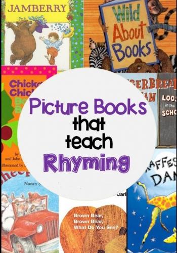 Books that Teach Rhyming