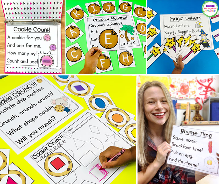 These Circle Time Pre-K & Kindergarten Chants are focused on important math and literacy skills.