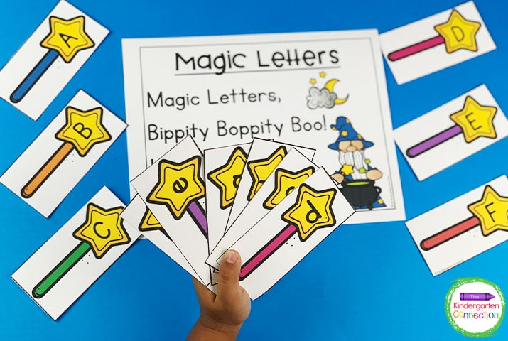 This bundle includes chants like this Magic Letters chant that practices letter recognition.