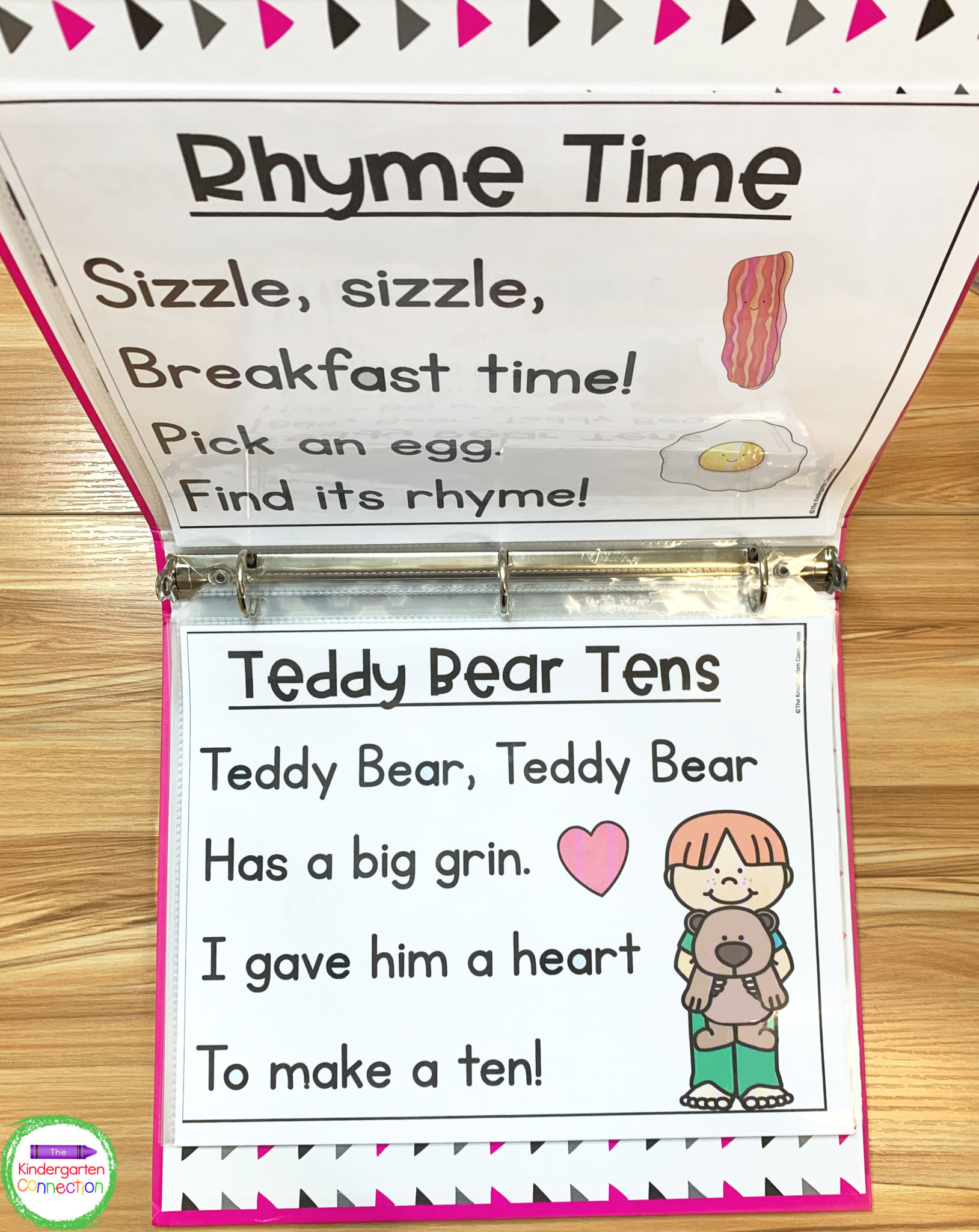Keep the chants in a handy binder to take to small groups or have readily available for circle time.