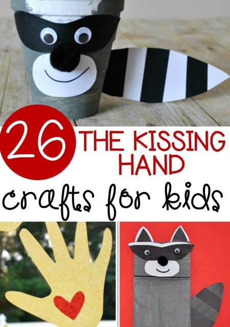 The Kissing Hand Crafts for Kids