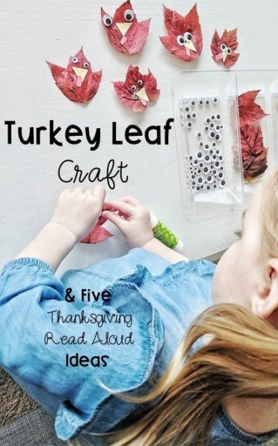 5 Thanksgiving Crafts and Read Alouds for Kindergarten