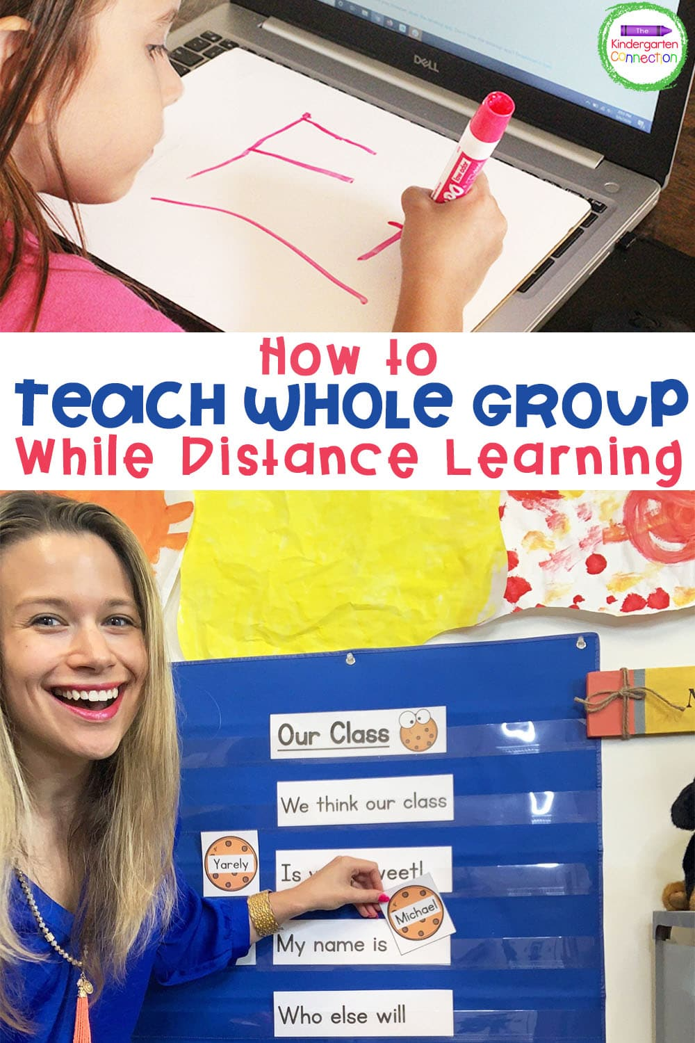 Together, let's dive into what's most important for successful Virtual Whole Group Teaching in Pre-K & Kindergarten!