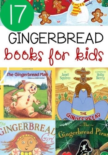 17 Gingerbread Books for Kids