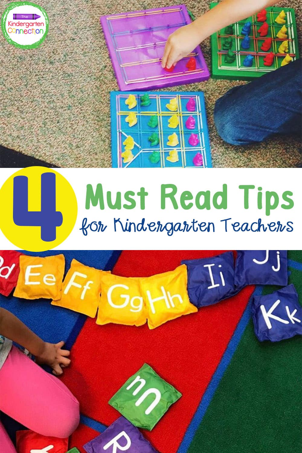 Check out these 4 Must Read Kindergarten Teaching Tips that are important and super helpful in the classroom!