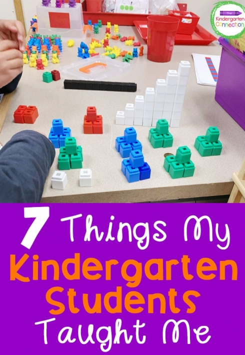 Things My Kindergarten Students Taught Me