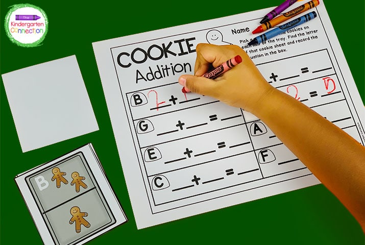This Cookie Addition game is another activity that will get your students excited to practice addition within 10!