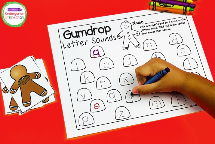Practice letter sounds and letter formation with this Gumdrop Letter Sounds and Tracing game.