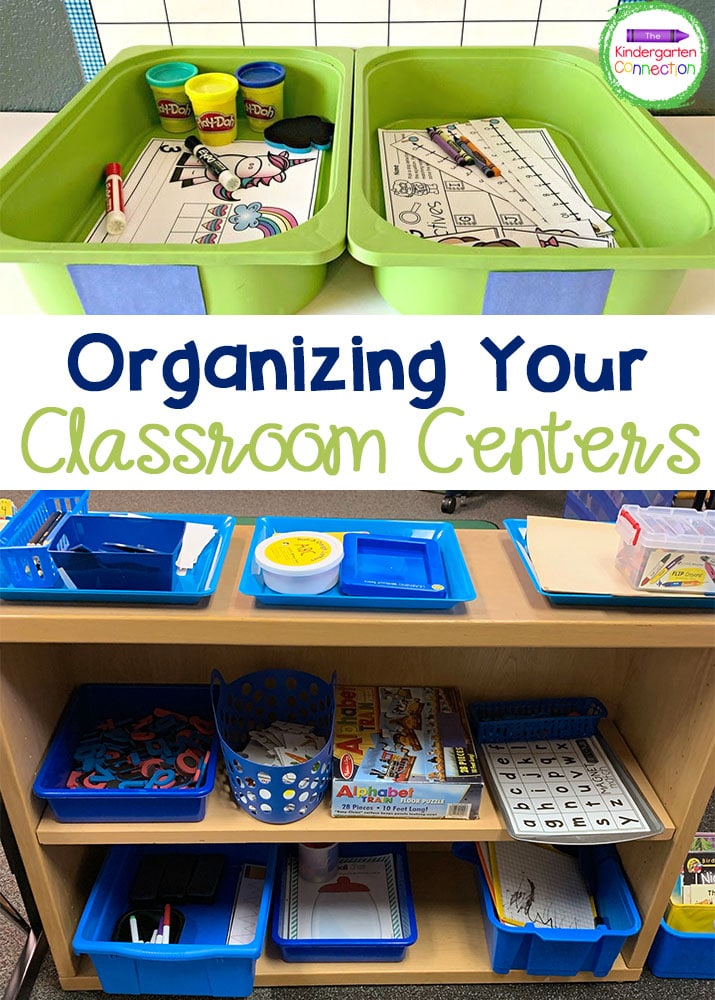Make your life easier with this color coding tip for organizing your classroom centers!