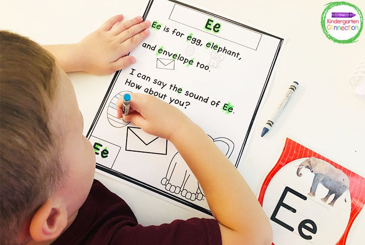 Print the related resources ahead of time so your students can follow along with these video lessons for Kindergarten.