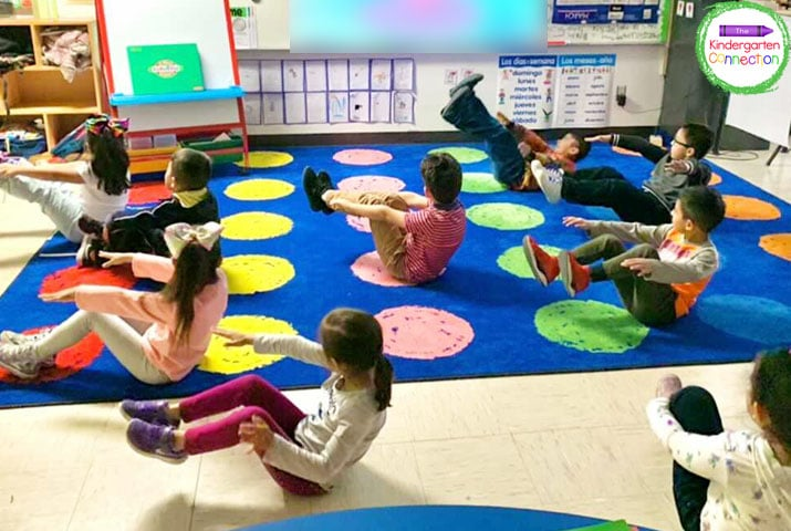 Brain breaks like stretching and yoga exercises are perfect for helping your students get the wiggles out so they are ready to focus.