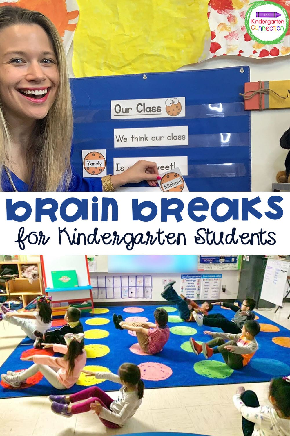 These Brain Breaks for Kindergarten Students bring extra fun to the classroom while ensuring your kids are getting the breaks that they need!