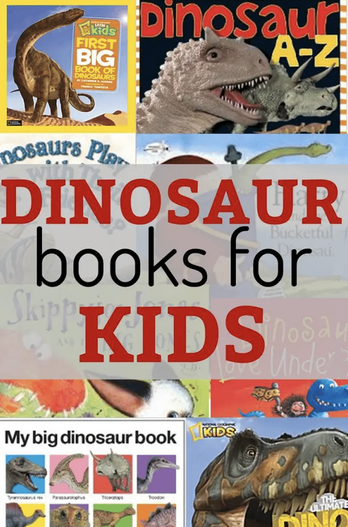 These dinosaur books for kids are must haves for any young dinosaur fan! From factual to silly, there is a book for everyone!