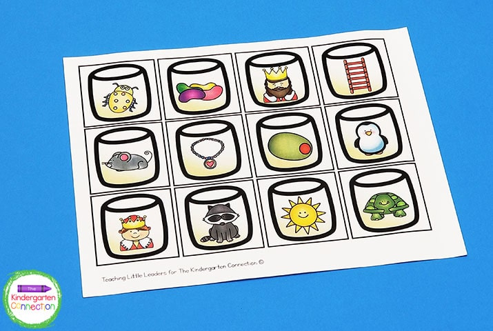 This activity includes super cute marshmallows with beginning sound pictures.