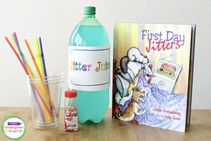With just a few ingredients and a fun read aloud, you can take away those first day jitters!