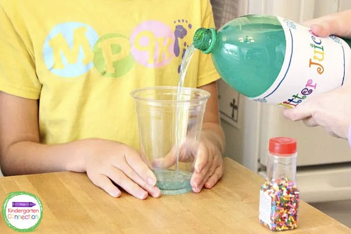 Mix together the simple ingredients, pour, and enjoy!