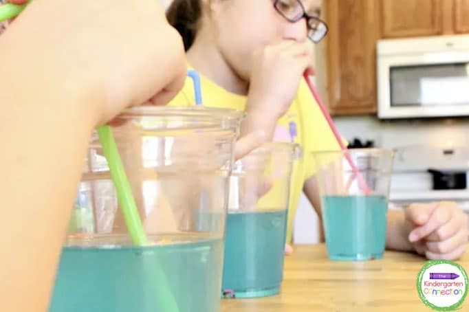 Younger and older children will both love this yummy Jitter Juice recipe!