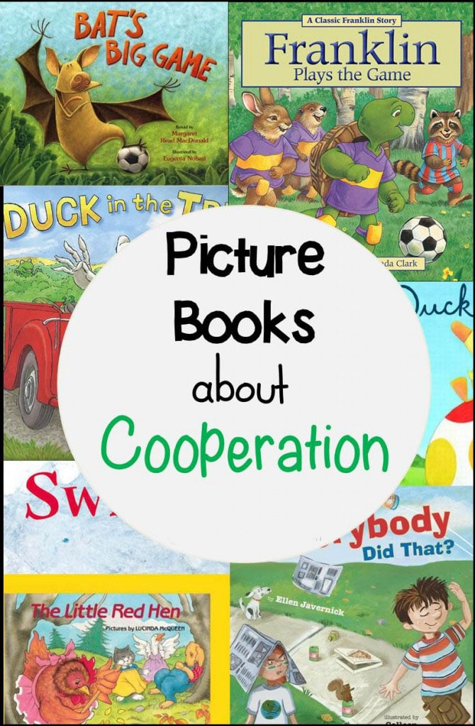 These books about cooperation are a super fun way to teach important social skills in the classroom! Your students are sure to love them!