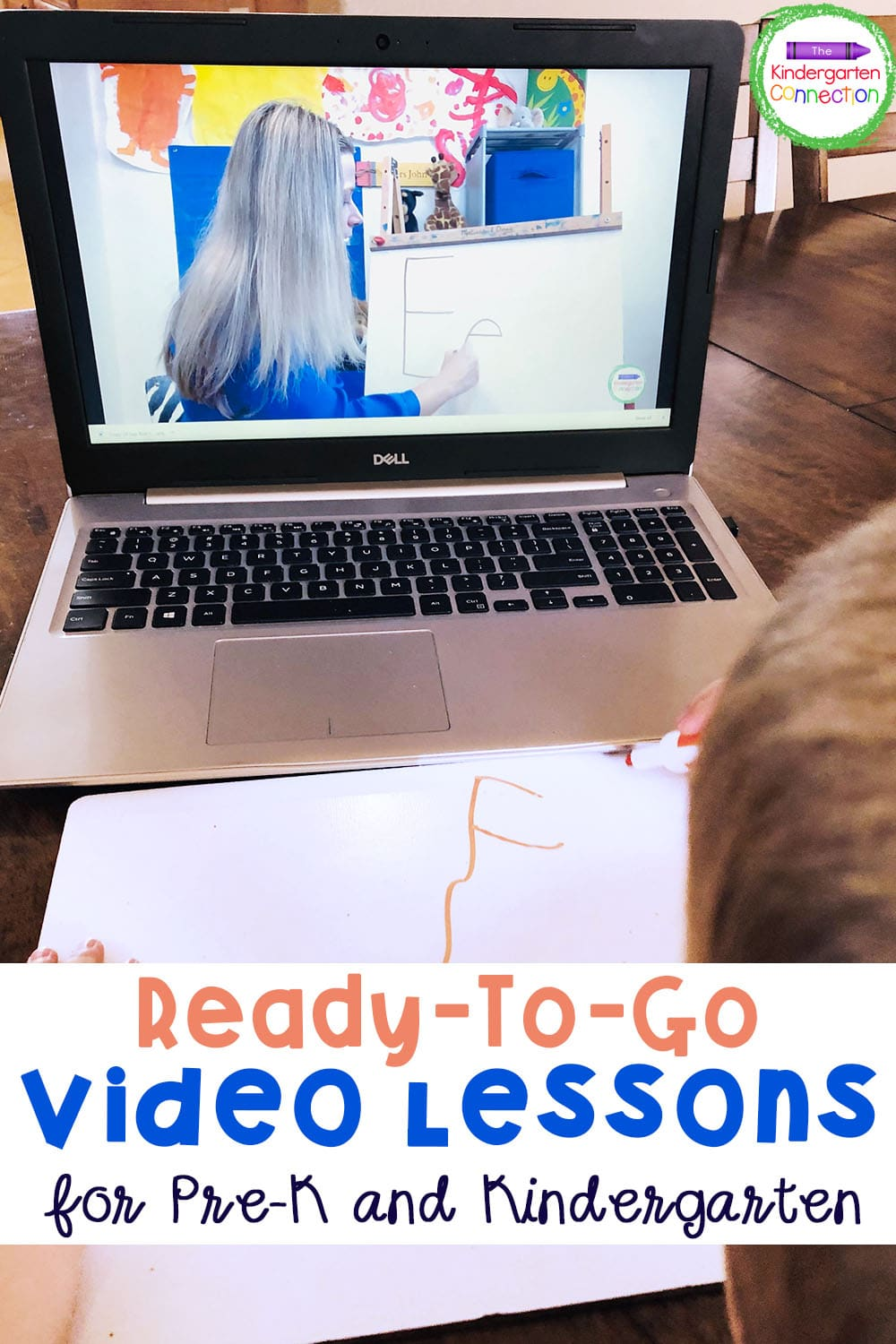 Check out these Ready-To-Go Video Lessons for Kindergarten for new and fun lesson ideas or just push play and let me teach for you!