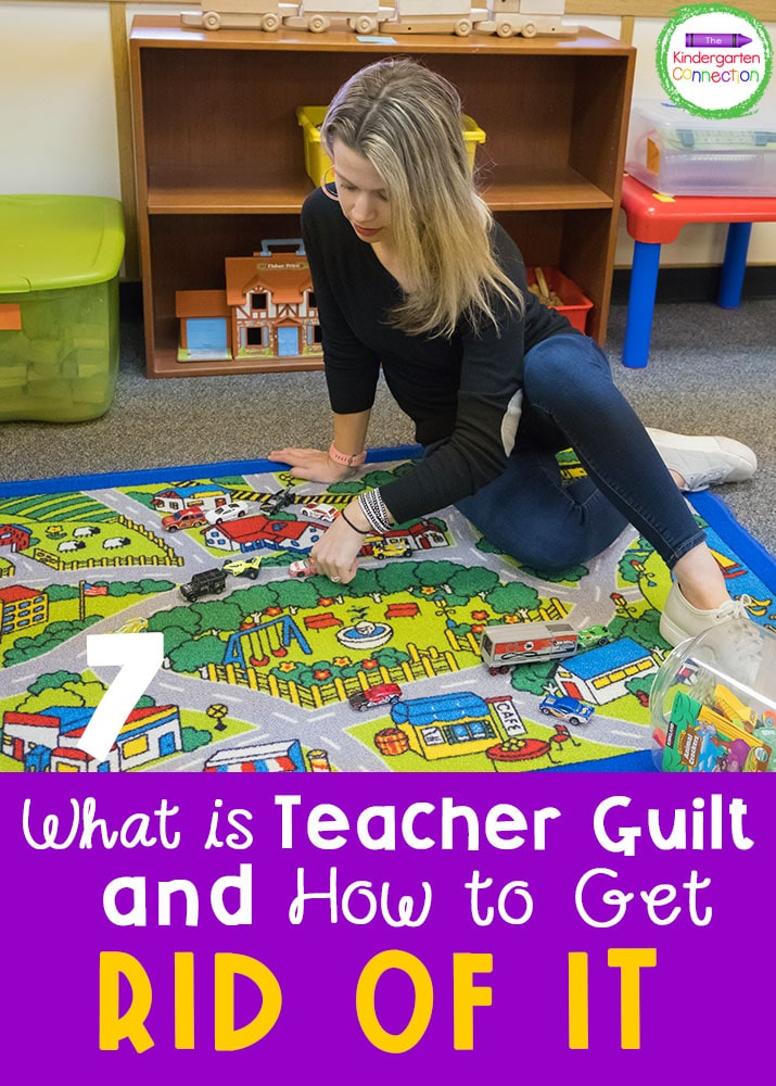 Have you ever felt a form of teacher stress or guilt? Here are some tips for how to grow, while still finding some balance in your life.
