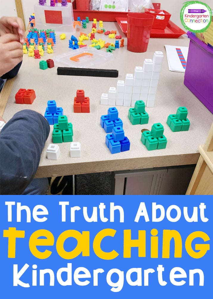 I wanted to share The Truth About Teaching Kindergarten - a bit more about what Kindergarten teachers may want you to know!