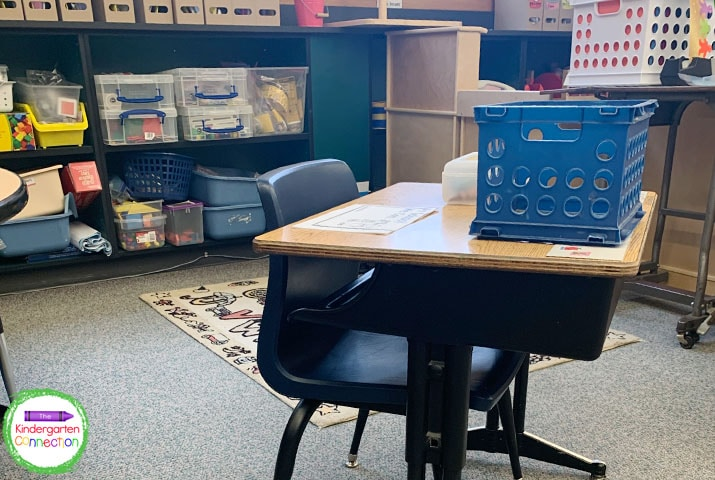 You may be able to have all of your desks spread six feet apart while teaching with social distancing.
