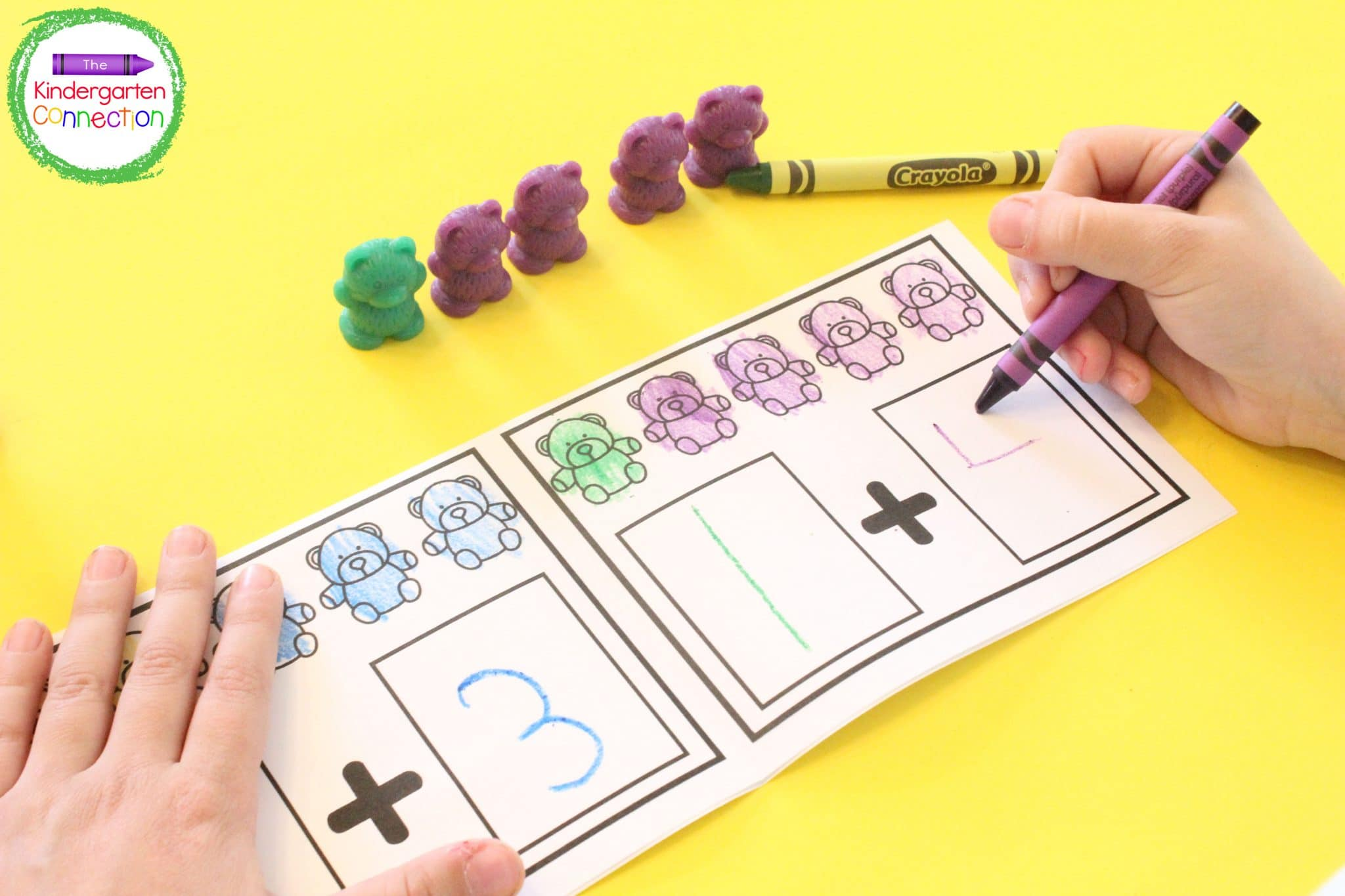 These mini-books cover topics such as counting, the alphabet, and even addition!