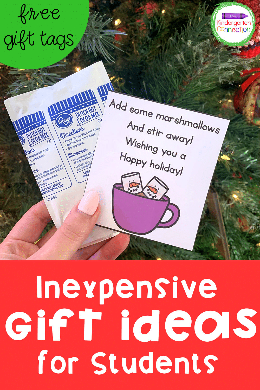 Check out these ideas for inexpensive holiday gifts for students! Your students are sure to love them and you will love how simple they are!