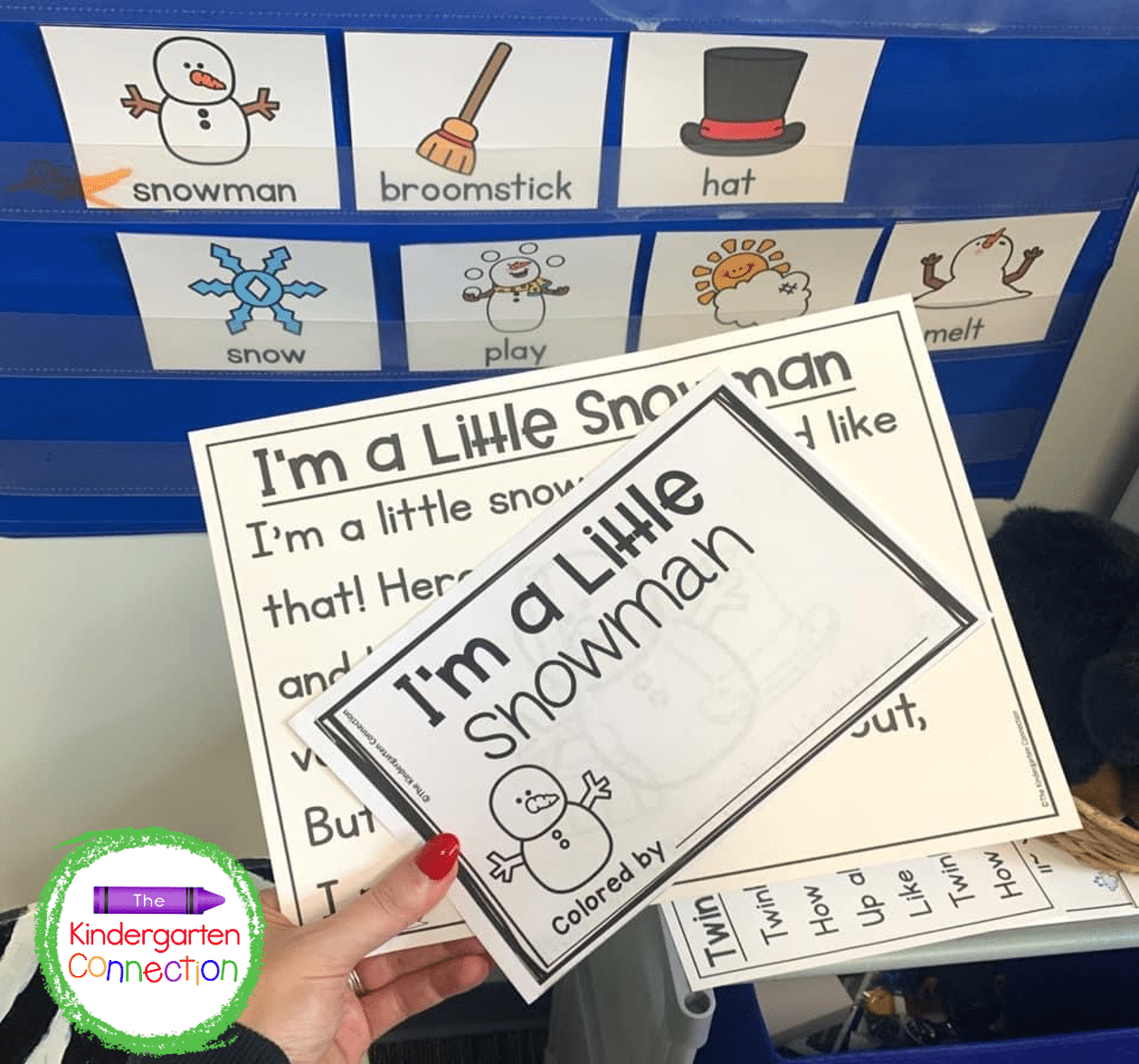Join our Print and Play Club for instant access to the matching emergent reader for our songs for circle time!