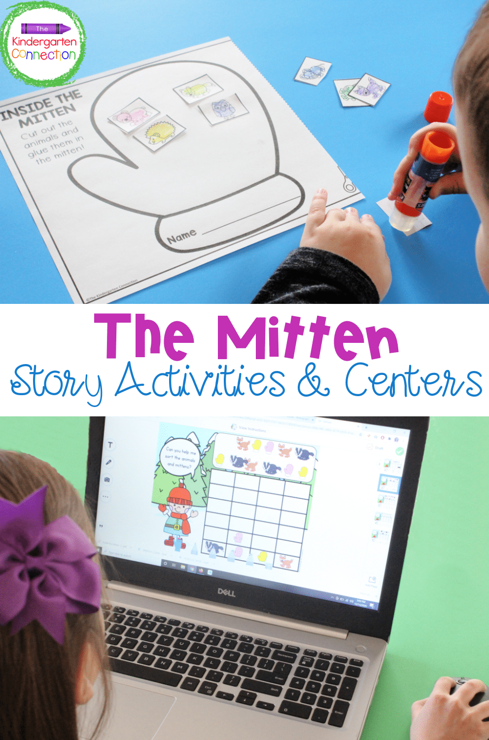 Get ready for tons of mitten-themed fun with this Mitten Story Activities BUNDLE. It makes the perfect story companion pack!