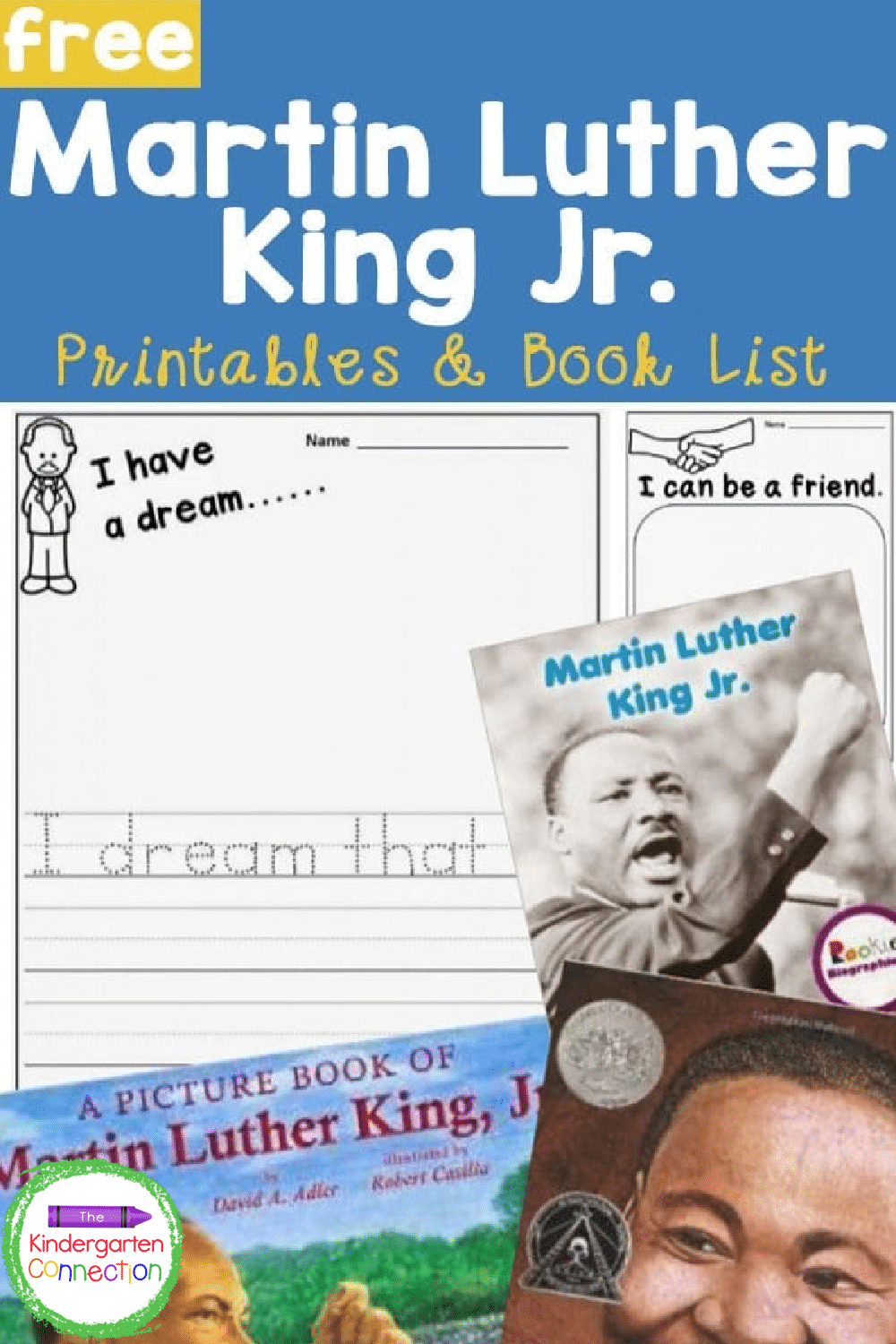 Honor Martin Luther King, Jr. by learning about his life and what he stood for with these MLK read alouds and free printables!