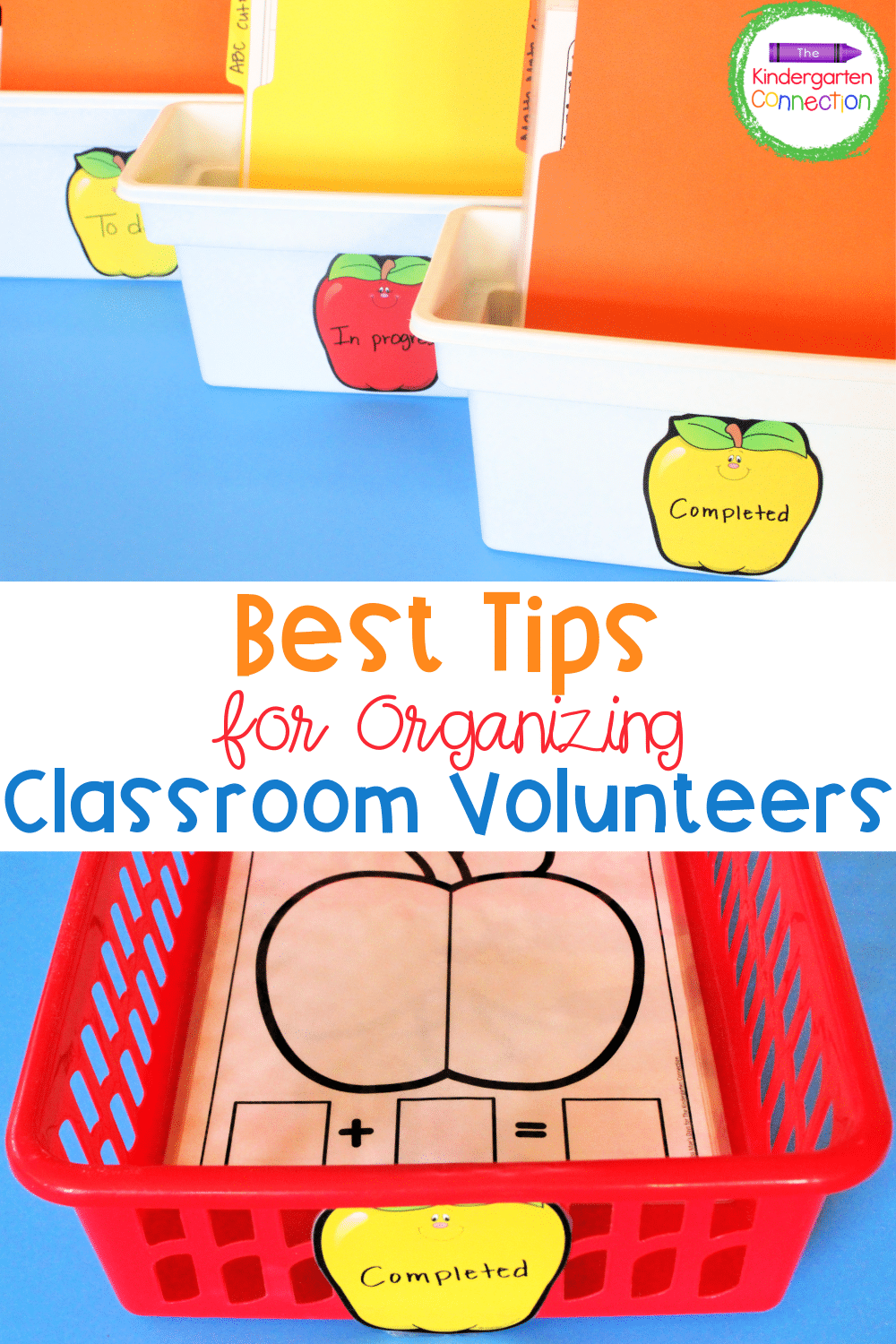 Make the most of all the help you get and check out these super useful tips for organizing volunteers in the classroom!